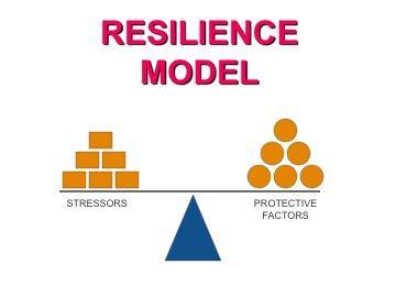 resilience model (stresor vs protective)