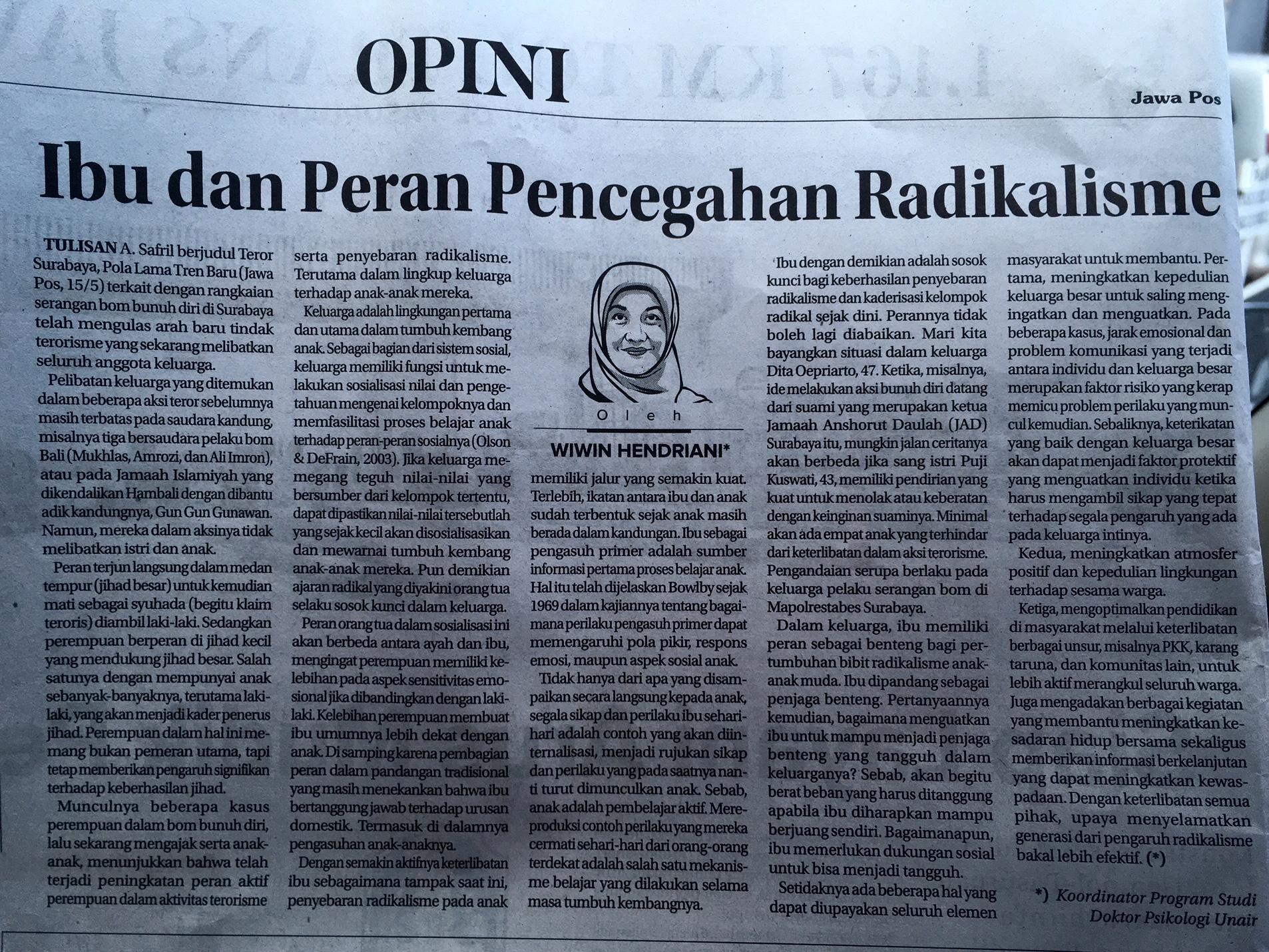 Contoh Artikel Di Koran Jawa Pos Kumpulan Soal Pelajaran 6